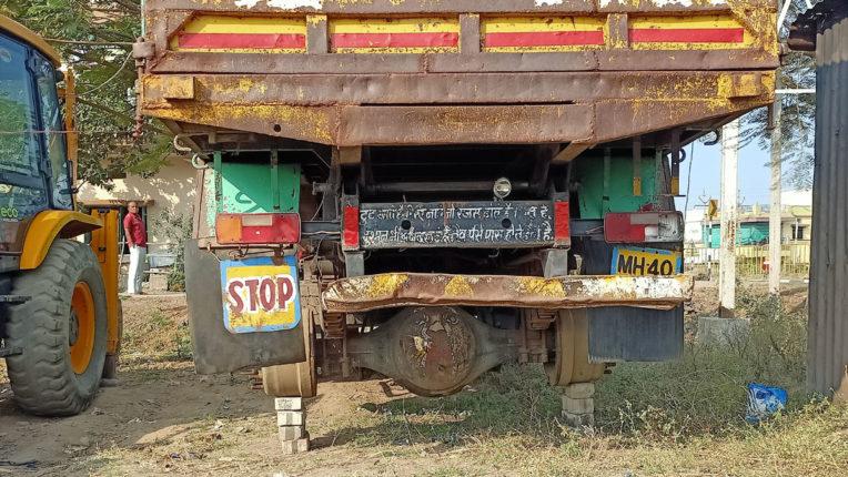 Truck Tires Theft