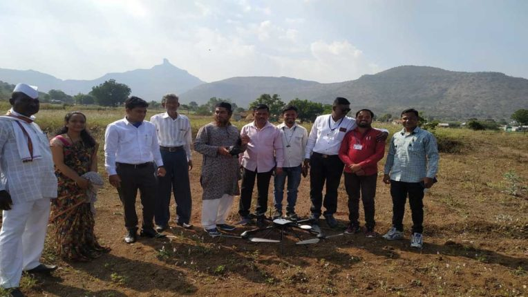 Measurement of land of 23 villages started by drone