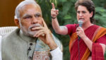 PM Modi and Priyanka Gandhi