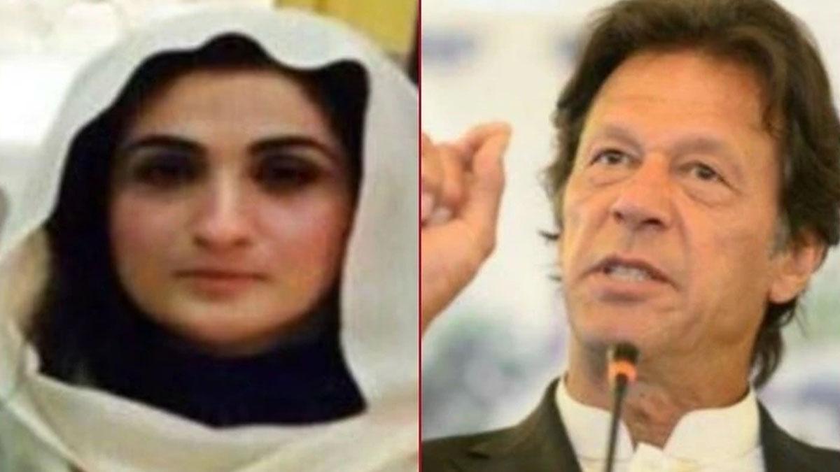 Bushra Bibi and Imran Khan