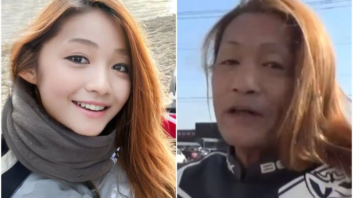 Japanese female biker turns out to be 50-year-old man, everyone is saying now OMG, you will also be surprised to see the photo