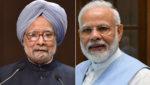 Manmohan Singh and PM Modi