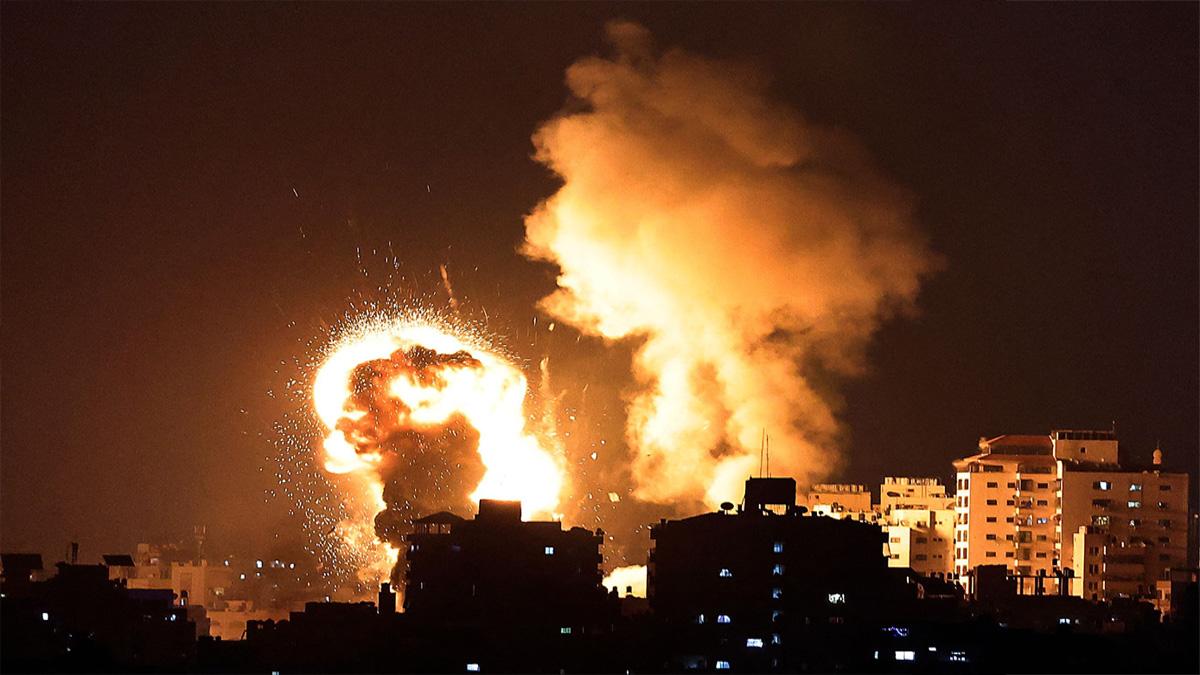 Israel-Palestine : Israel's air strike continues on Gaza