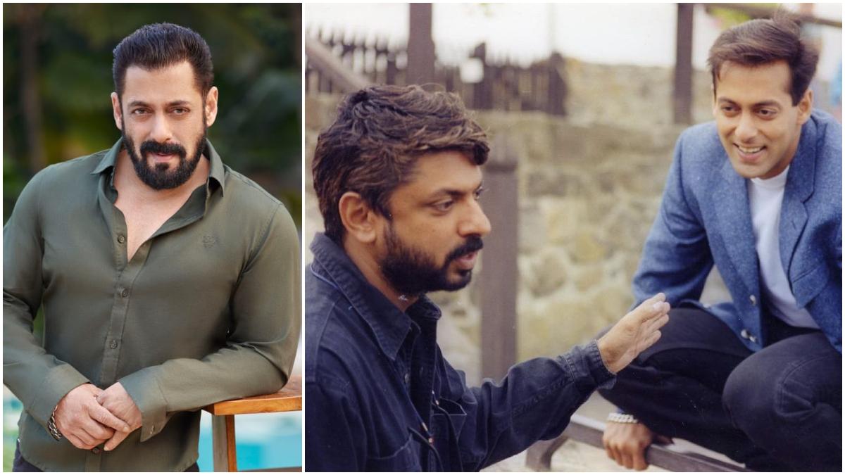 Salman Khan share picture of director Sanjay Leela Bhansali, said