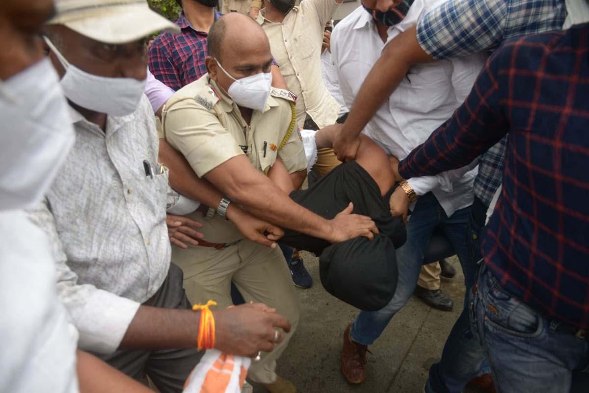 Pipla Fata, Nagpur, Tension