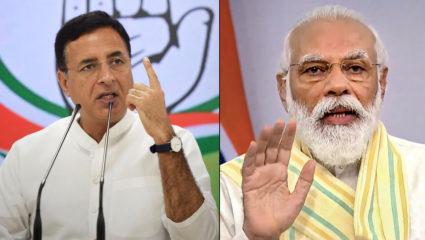 Randeep Surjewala and Modi
