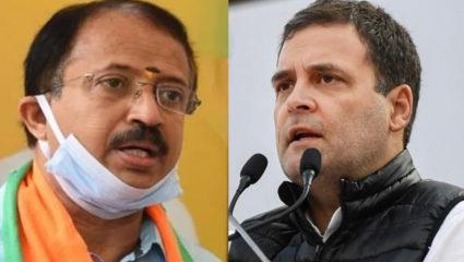 V Muraleedharan and Rahul Gandhi
