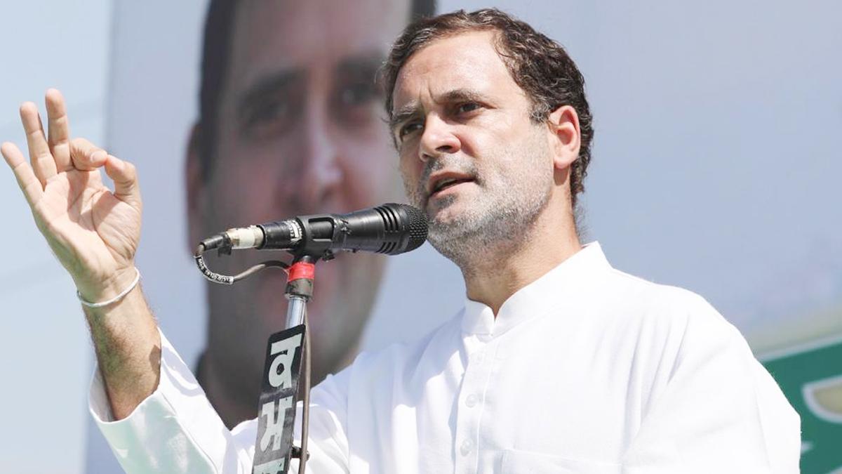 UP Elections 2022 | कांग्रेस सांसद राहुल गांधी का CM योगी पर मात्र 6 शब्दों  का 'मर्मभेदी' तंज- जो नफरत करे, वह योगी कैसा! | Navabharat (नवभारत)