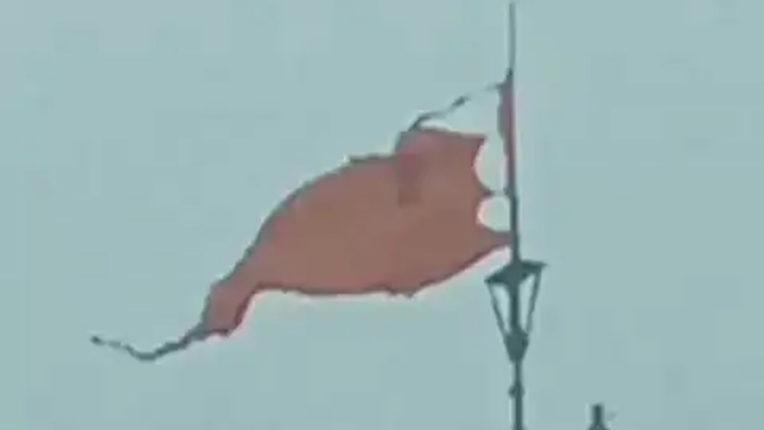Dwarkadhish temple Flag